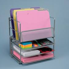 Desk Drawer Organizer Amazon by Amazon Com Seville Classics Office Desk Organizer Platinum Mesh