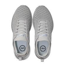 apl women u0027s running shoes techloom phantom metallic silver cosmic grey