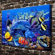 100 Christian Lassen A0665 Riese Mothers Miracle FishHD Canvas