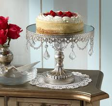 Baroque Style Footed Cake Stand