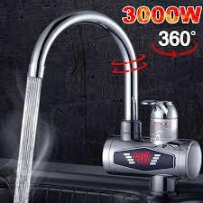 Elektrischer Wasserhahn Durchlauferhitzer 3000w Armatur Bad Bad U Küche Dhl 3000w Elektrischer Wasserhahn