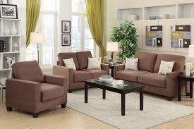 Poundex 3pc Sectional Sofa Set by Showroom Quality Furniture At Warehouse Prices F7911 Ebony Sofa
