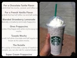 Recipe Recipechart Com Double Chocolate Chip Frappuccino Fraps Green Tea Drawn Starbucks Oreo 2