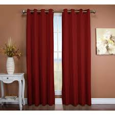 Insulated Window Curtain Liner by Blackout Curtains U0026 Drapes Window Treatments The Home Depot