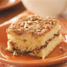 Sour Cream Streusel Coffee Cake Recipe