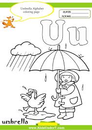 Letter U Worksheets For Preschool Free Worksheets Library