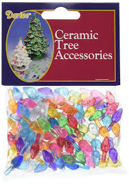 Colored Bulbs For Ceramic Christmas Tree by Amazon Com Ceramic Christmas Tree Bulb 5