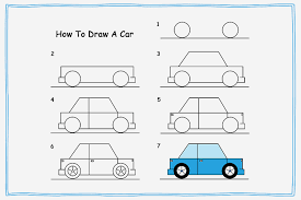 how to draw a car8