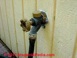 Replacing Outdoor Faucet Packing by Faucets Sill Cocks Hose Bibbs U0026 Hose Hook Ups Types