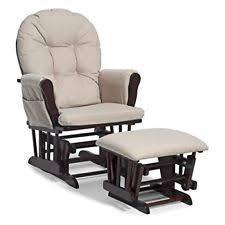 Nursery Rocking Chair Ottoman Set Baby Furniture Nursing Glider