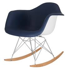 100 Navy Blue Rocking Chair Amazoncom MEELANO M10 In Vegan Leather Twin