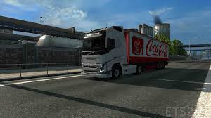 MOD TRAILE Coca-Cola For EURO TRUCK SIMULATOR 2 | ETS 2 Mods