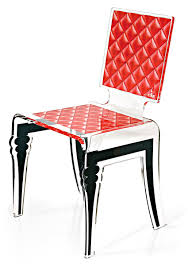 chaise en plexiglas plexi