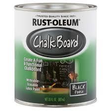 Rust-Oleum Black Chalkboard Paint 30 Oz. - Ace Hardware