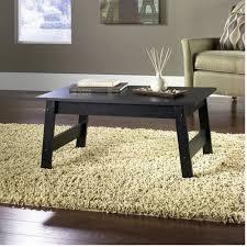 Sofa Snack Table Walmart by Mainstays Coffee Table Black Oak Finish Walmart Com