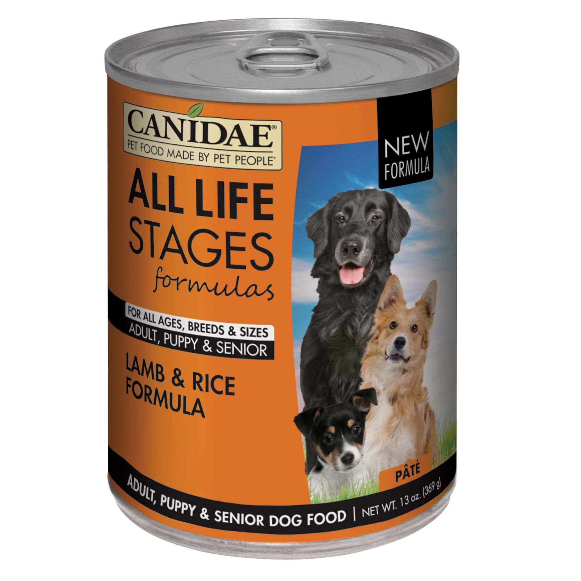 Canidae All Life Stages Dog Wet Food - Lamb & Rice, 369g