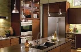 one pendant light island in addition to kitchen island
