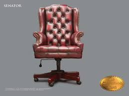 fauteuil bureau chesterfield chesterfield chaise de bureau senator oc antique bordeaux