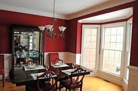 Dining Room Paint Ideas Charming Red Color With Modern Colors