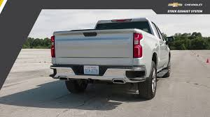 100 Chevy Truck Performance Chevrolet 2019 All New Silverado 53L CatBack DualExit Exhaust Upgrade System