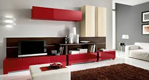 Incredible Red Living Room Paint Ideas Modern