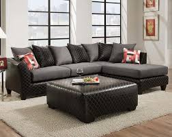 jitterbug grey two piece sectional sofa contemporary living