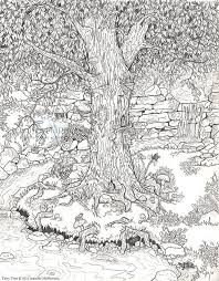 Crazy Detailed Nature Picture From Bestadultcoloring Defiantly Trying This One Coloring PagesAdult