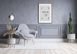 modernes wohnzimmer und dachbodeninnenarchitektur graues