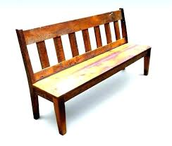 Outdoor Benches With Backs Wooden Bench Back Dining Charming Room And Attractive Innovative