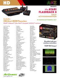 Halloween Atari 2600 Theme by Geek Alert Atari And Sega Genesis Return In New Console And