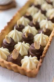 recette de tarte aux deux chocolats nestlé dessert amande et corsé