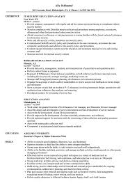 Education Analyst Resume Samples | Velvet Jobs How To Put Your Education On A Resume Tips Examples Write Killer Software Eeering Rsum Teacher Free Try Today Myperfectresume Teaching Assistant Sample Writing Guide 20 High School Grad Monstercom Section Genius Best Director Example Livecareer Sample Teacher Rumes Special 12 Amazing