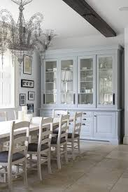 Refurbished Dresser Dining Room Victorian With Contemporary Chandelier Clear Shade