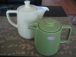 Vintage Melitta Coffee Tea Pot In Mint Green Some Time Ago With The Original Sticker On It You Can Read More About History Of At