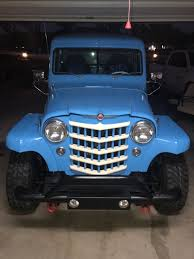 100 1950 Willys Truck Jake Rodriguez Kaiser Jeep Blog