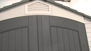 Lifetime Products Gable Storage Shed 7x7 by How To Align The Doors For A Lifetime 7 U0027 Shed Youtube