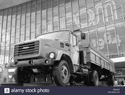 100 Zil Truck A Diesel Powered Truck At Avtoprom 84 An Exhibition Of The USSR