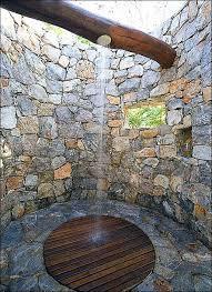 Outdoor Shower Floor Materials Design Ideas Amazing Decoration Combine Sturdy