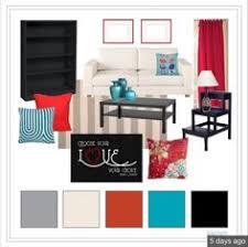 Red Living Room Ideas by Blog Post With Great Red White U0026 Blue Decor Inspiration For The