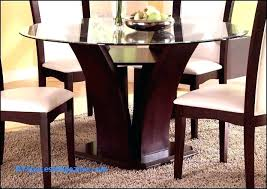Glass Dining Table And Chairs Room Kitchen Set With