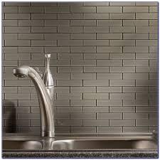 Peel And Stick Glass Subway Tile Backsplash by Self Stick Glass Tile Backsplash Tiles Home Design Ideas