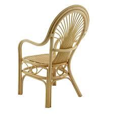 fauteuil en bambou chaise en bambou avec accoudoirs chaise en