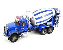 1/16 Mack Granite Cement Mixer By Bruder Toys [BTA02814] | Toys ...