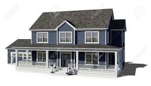 100 Picture Of Two Story House Blue