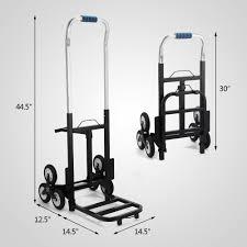 100 Hand Truck Vs Dolly Portable Stair Climbing Folding Cart Climb Moving Up To 420lb