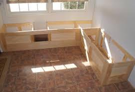 kitchen corner kitchen table with storage bench with best