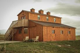 Shed Row Barns For Horses by Modular Horse Barns From Teton Structures In Cheyenne Wy