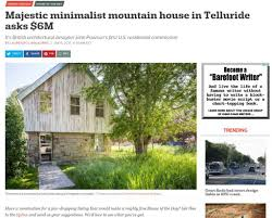 100 Minimalist Homes For Sale CURBED Majestic Minimalist Mountain House In Telluride