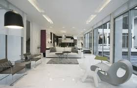Living Room Impressive Granite Design For With White Ceiling And Warm Lamp It Also