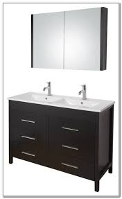 Ikea Double Faucet Trough Sink by 48 Inch Double Sink Vanity Ikea Bath Reno Pinterest Sinks